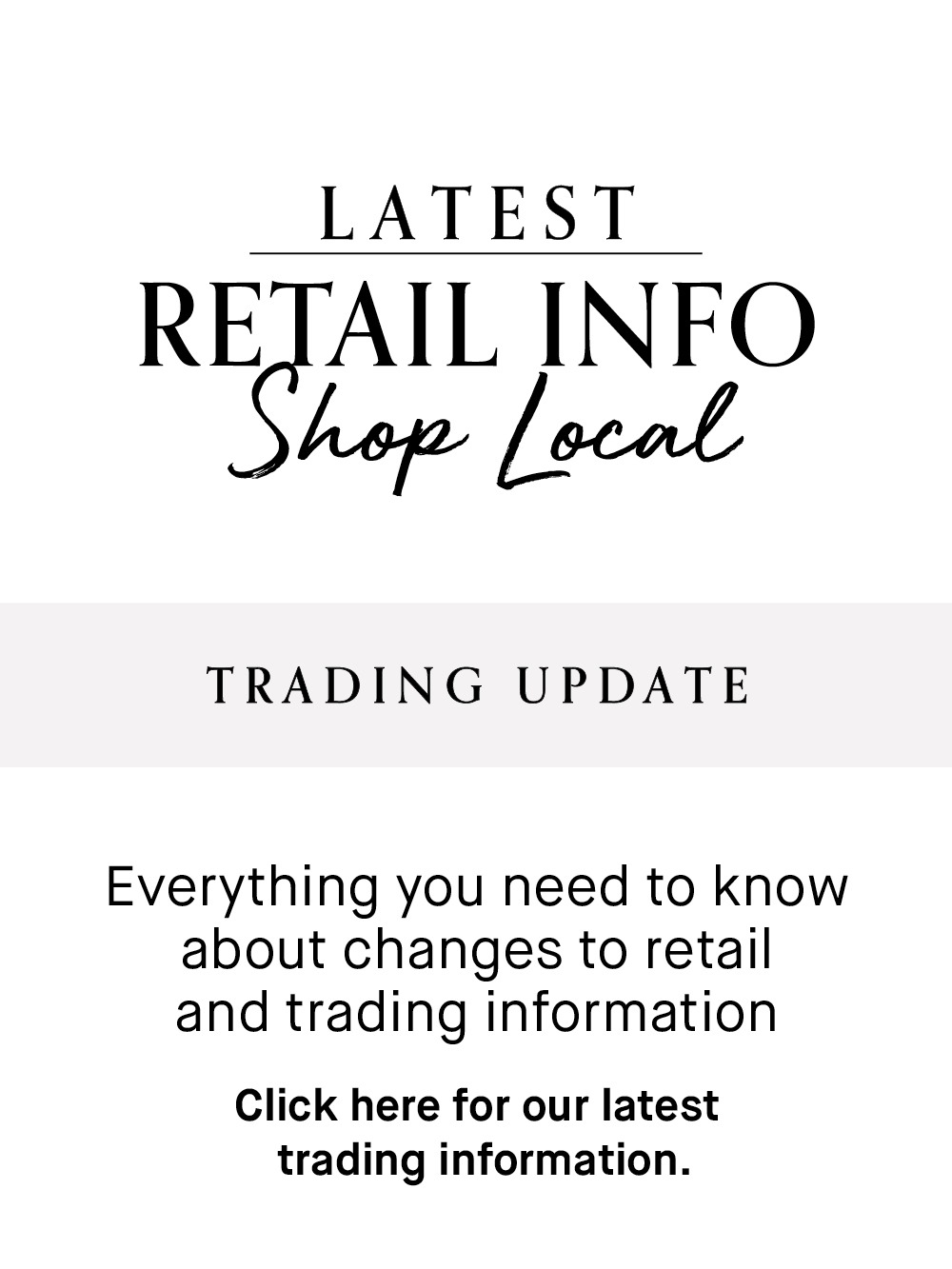 Trading Retailer - Update